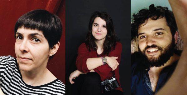 Rosinha Rojo, Uxía Estévez e Rafa Otero